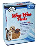 Four Paws Wee-Wee Training Pads, 22 by 23, Case of 12-10 Packs, Total 120 Pads