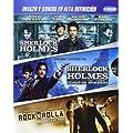 Sherlock Holmes 1 + Sherlock Holmes 2 + Rocknrolla [Blu-ray] Import mit deutschem Ton