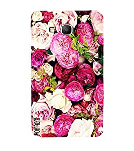 Omnam Beautifull Flower Pattern Designer Back Cover Case For Samsung Galaxy Grand Prime