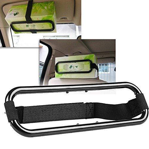 Car Sun Visor Tissue Paper Box Holder Seat Back Accessories Bracket For Toyota