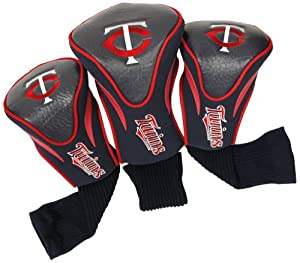 MLB Minnesota Twins Contour Head Cover (Pack of 3), Navy by Team Golf