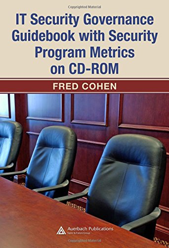 IT Security Governance Guidebook with Security Program Metrics on CD-ROM (The CISO Toolkit)