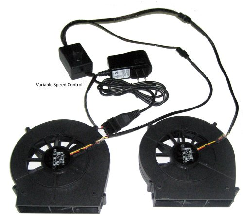 Coolerguys Dual Blower Fan Component Cooler with Manual Speed Control (Lite) (Variable Speed Pc Fan compare prices)