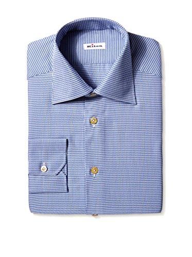 Kiton Men's Textured Dress Shirt