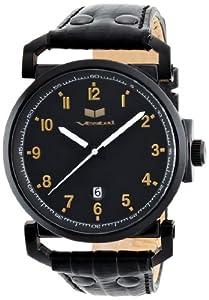 Vestal Men's OBR028 Observer Black Ion Plated Watch