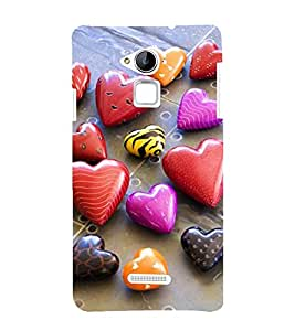 Vizagbeats heart stones Back Case Cover for Coolpad Note 3