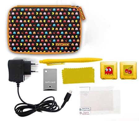 Pac-Man 7-in-1 XL Accessory Kit (Nintendo 3DS XL/DSi XL)