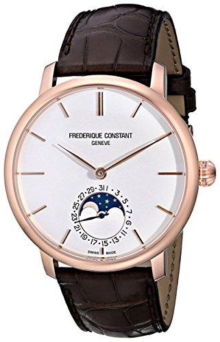 Frederique Constant FC705V4S4 - Reloj para hombres, correa de cuero
