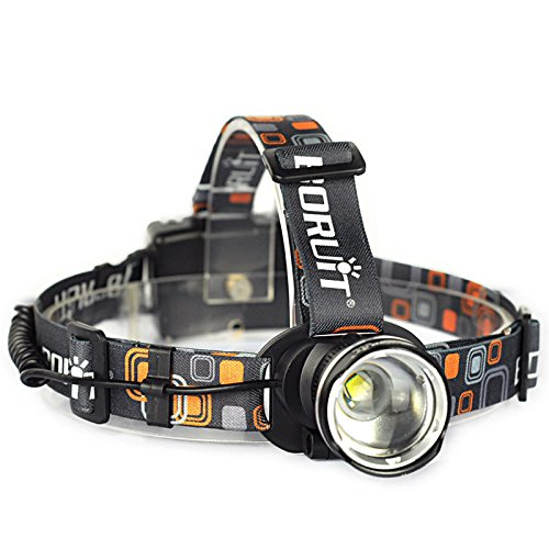 FIONA® RJ-2166 2500 Lumen Zoomable CREE XML T6 LED Headlamp Head torch Light lamp for Hunting Camping Hiking Outdoor Sports