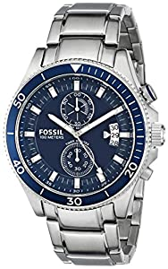Fossil Men's CH2937 Analog Display Analog Quartz Silver Watch