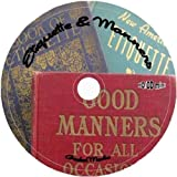 Etiquette & Manners: 18 Books & Guides on Disc