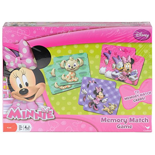 Disney Junior Minnie Mouse Memory Match Game 72 Memory Match Cards
