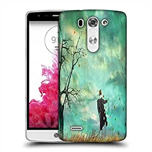 Snoogg Scare Crow Designer Protective Phone Back Case Cover For LG G3 BEAT