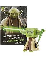 Star Wars Birthday Card 'Build Your Own Yoda' by Hallmark