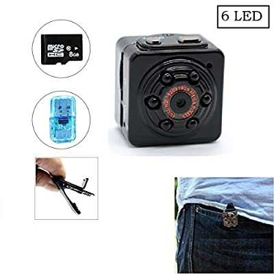 Mini hidden spy portable camera SQ9 ... by MAGENDARA