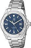 Tag Heuer Men's  '300 Aquaracer' Blue Dial Stainless Steel Swiss Quartz Watch WAY1112.BA0910