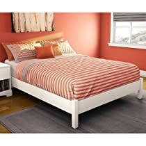 Hot Sale Sandbox Platform Bed - White