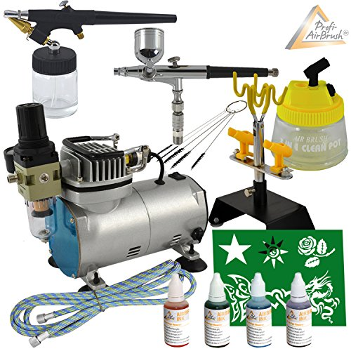profi-set-aerografo-set-airbrush-con-compresor-aerografo-compresor-airbrush-aerografo-colores-airbru