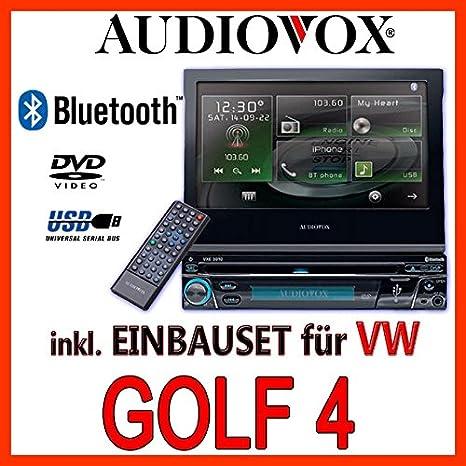 VW golf 4/bora-multimédia audiovox vxe 3010-1DIN kit de montage d'autoradio