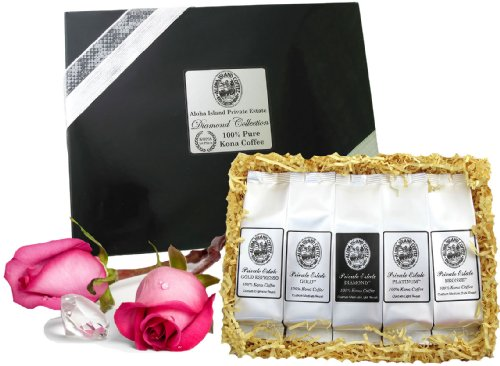 Christmas Business Gifts.100 Pure Kona Coffee Gift Limited Edition For Birthdays
