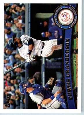 2011 Topps Baseball Card #433 Curtis Granderson - New York Yankees - MLB Trading Card (Series 2)