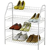 HLC Supreme Metal Wire Shelving Shoe Rack Multi-purpose Closet Storage System