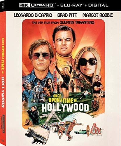 4K Blu-ray : Once Upon A Time In Hollywood (2 Discos)