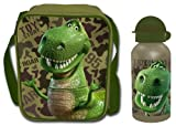Toy Story Rex Dinosaur Lunch Bag and Aluminium Bottle