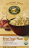 Nature's Path Gluten Free Hot Oatmeal, Brown Sugar Maple with Ancient Grains, 11.3 Ounce (Pack of 6)
