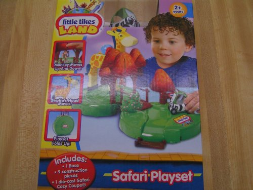 Little Tikes Land Safari Playset with Diecast Vehicle - Buy Little Tikes Land Safari Playset with Diecast Vehicle - Purchase Little Tikes Land Safari Playset with Diecast Vehicle (Little Tikes, Toys & Games,Categories,Play Vehicles,Vehicle Playsets)