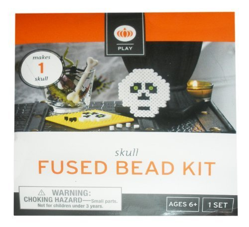 Skull Halloween Fused Bead Kit