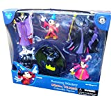 Disney Parks Exclusive Sorcerer Mickey Vs Disney Villains Collectable Figures playset