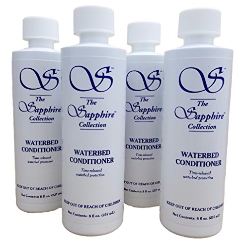 4 8oz Bottles Blue Magic Waterbed Conditioner Sapphire (Waterbed Conditioner Blue Magic compare prices)