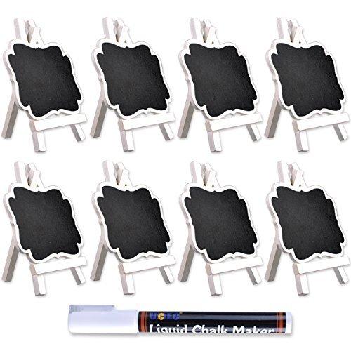ucec-mini-tableau-noir-avec-chevalet-en-bois-approprie-pour-memo-et-craieparfait-pour-la-fete-de-mar