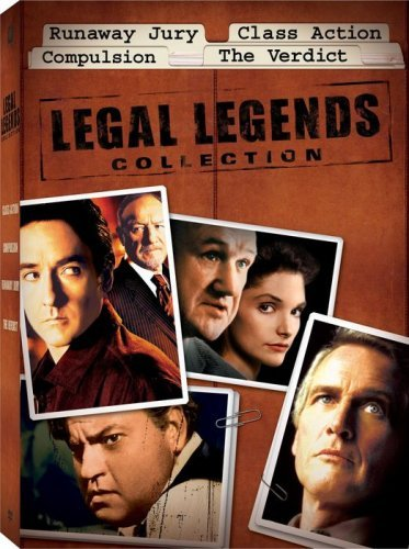 Legal Legends Collection Box Set (Runaway Jury / Class Action / Compulsion / The Verdict) By Gene Hackman