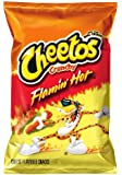 Cheetos Cheese Flavored Snacks, Crunchy Flamin' Hot, 9.5 Ounce (Pack of 4)