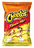 Cheetos Cheese Flavored Snacks, Crunchy Flamin' Hot, 9.5 Ounce