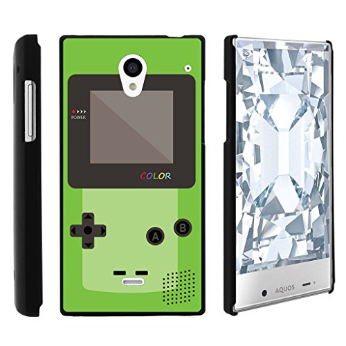 Aquos Crystal case, 306SH Cover, Perfect Fit Cell, Sharp Aquos Crystal 306SH Shell Cool Designs Collection by Miniturtle® - Green Gameboy Color (Cute Sharp Aquos Crystal Case compare prices)