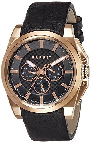 Esprit-Reloj de pulsera para hombre tp10871Night analógico de cuarzo piel es108711002