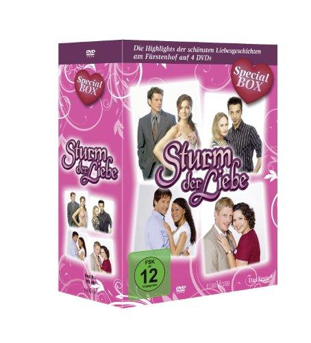 Sturm der Liebe - Special-Box: Die schönsten Liebesgeschichten am Fürstenhof [4 DVDs]