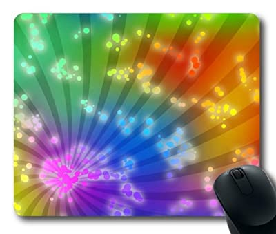 diy Colorful Abstract mousepad, Customized Colorful Abstract Mouse Pad