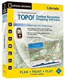 National Geographic TOPO! USGS Colorado Map Compatible DVD (Windows or Mac)