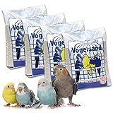 10 kg Vogelsand Naturweiss mit Kalk u. Anis hygienisch