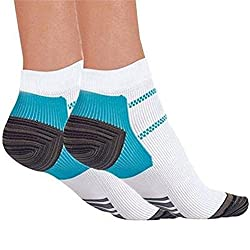 YONGER 1 Pair Foot Compression Socks for Plantar Fasciitis Heel Spurs Pain Relief
