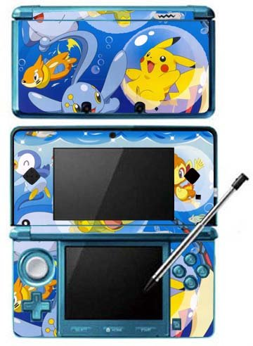 Click To Pokemon Black and White 2 -b- Game Skin for Nintendo 3DS Console Details