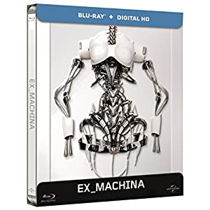 Ex Machina [Blu-ray + Copie digitale - Édition boîtier SteelBook]