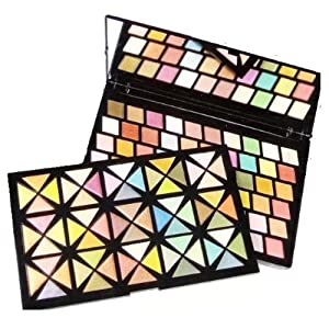 110 Color - Double Layer Multicolor Eyeshadow palette
