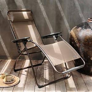 Lafuma Futura Clipper Zero Gravity Lounge Chair by Lafuma America Inc