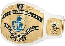 WWE Cinturón de Título de Campeonato Intercontinental de color blanco de 2014réplica