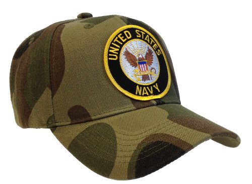 Us Navy Hat Camouflage Camo Ball Cap